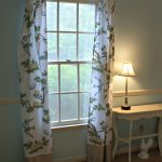 No-Sew Curtains for the Dining Room