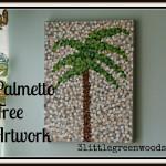 Palmetto Tree Artwork