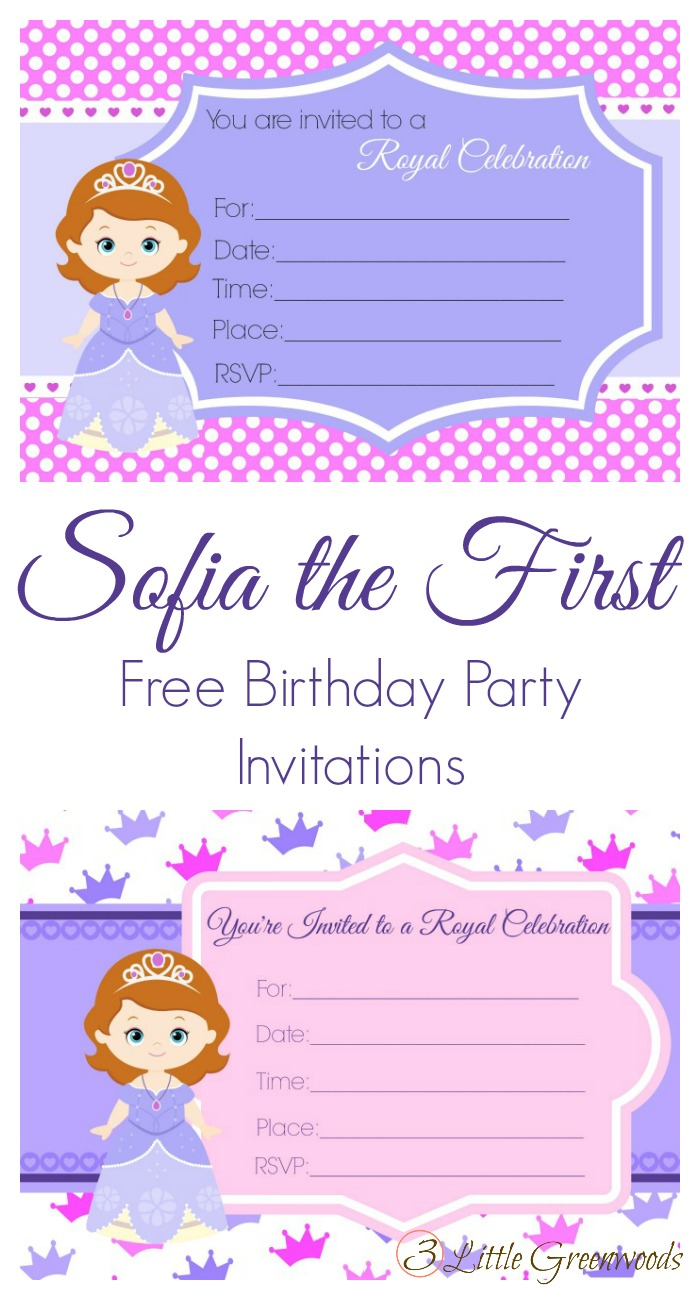 Sofia the first birthday invites sofia the first birthday party invites princess birthday invitations sofia the first filmwisefo Images