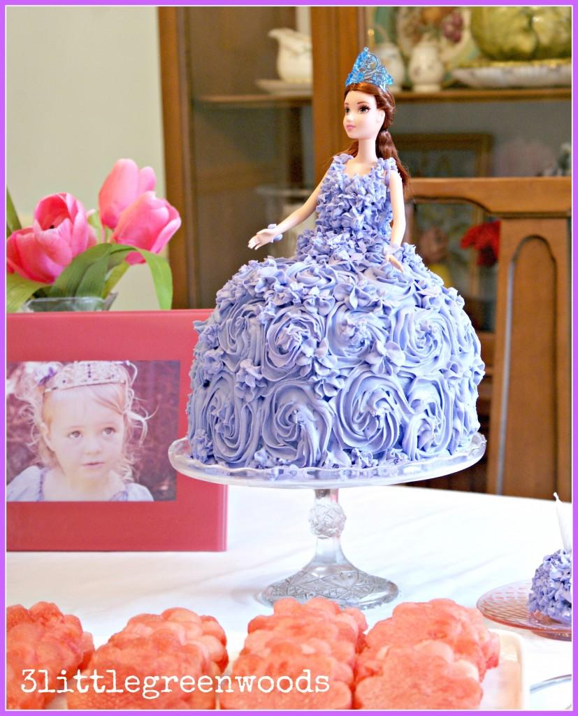 Sofia the first birthday party diy princess cake for a sofia the first birthday party on a budget solutioingenieria Images