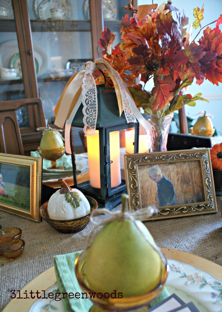 Setting a Meaningful Thanksgiving Table @ 3littlegreenwoods
