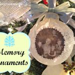 Memory Christmas Ornaments using Photographs