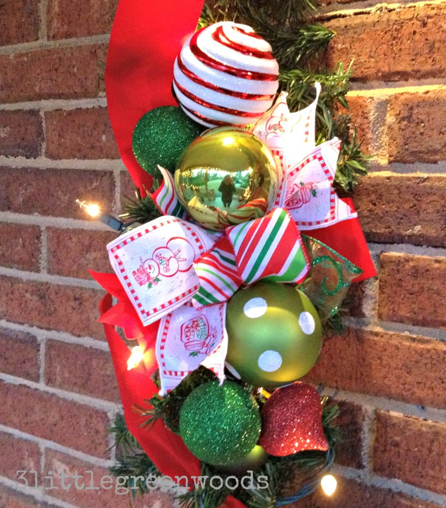 easy christmas bow