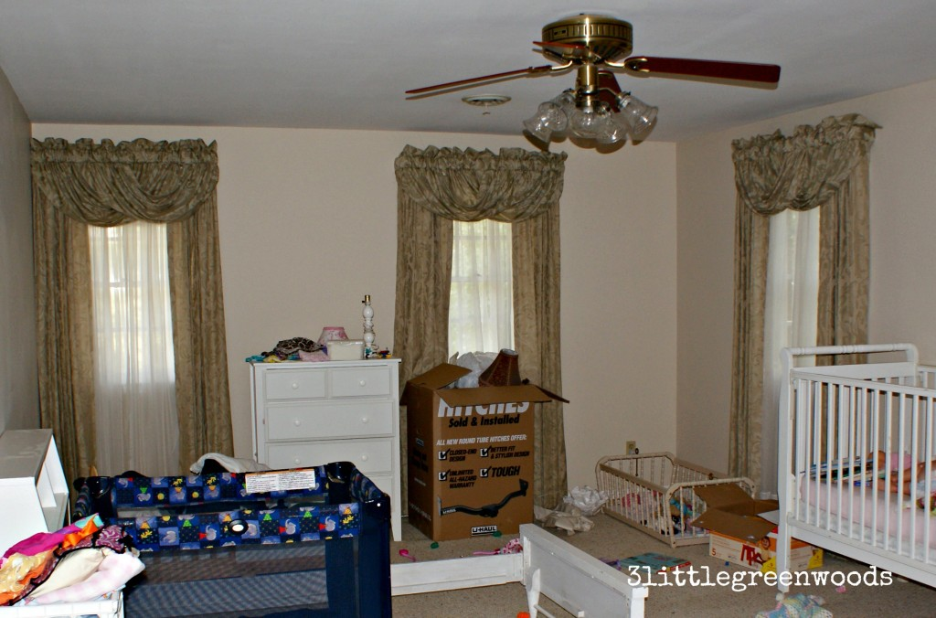 before shot of little girl's room by 3littlegreenwoods