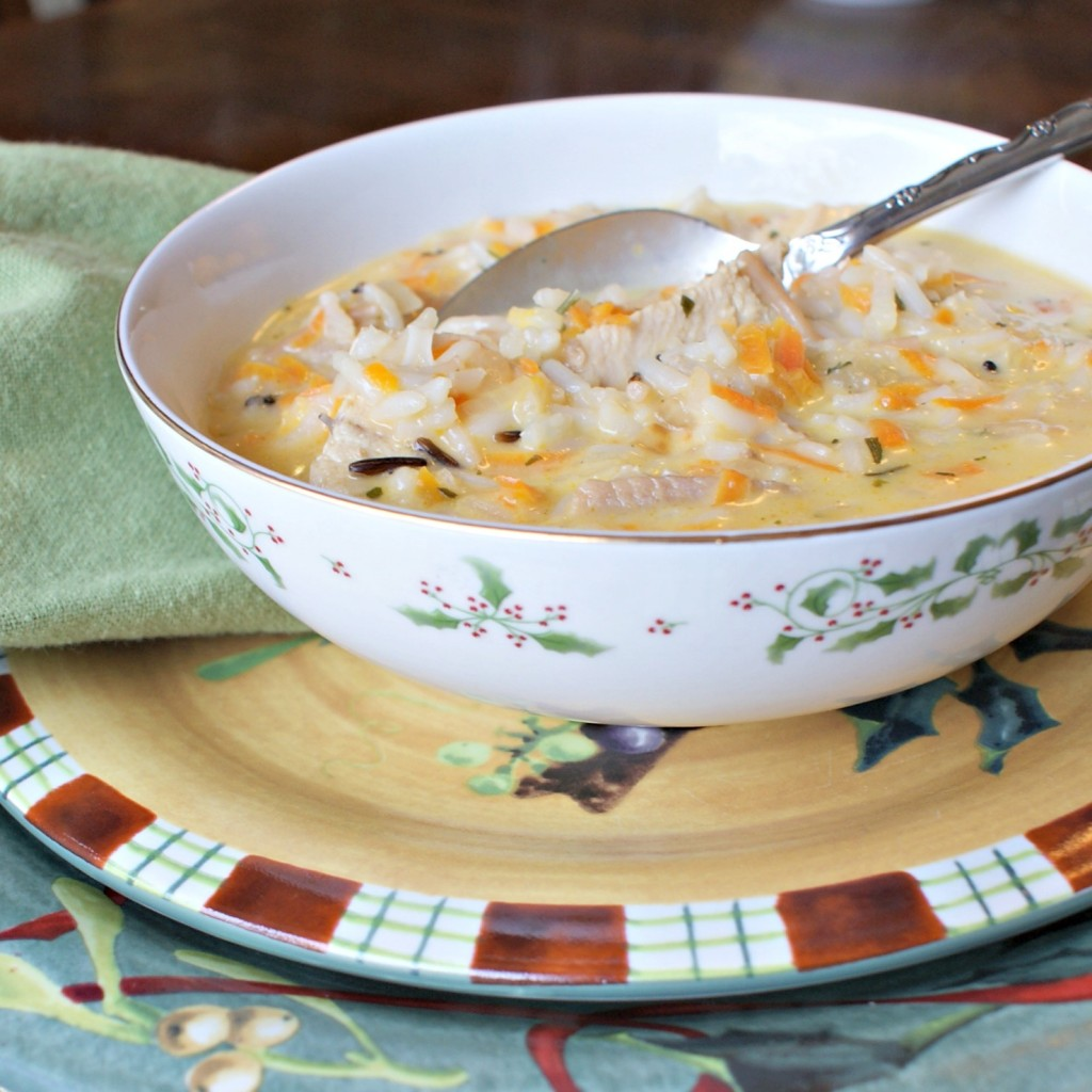 easy chicken soup