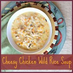 Cheesy Chicken Wild Rice Soup