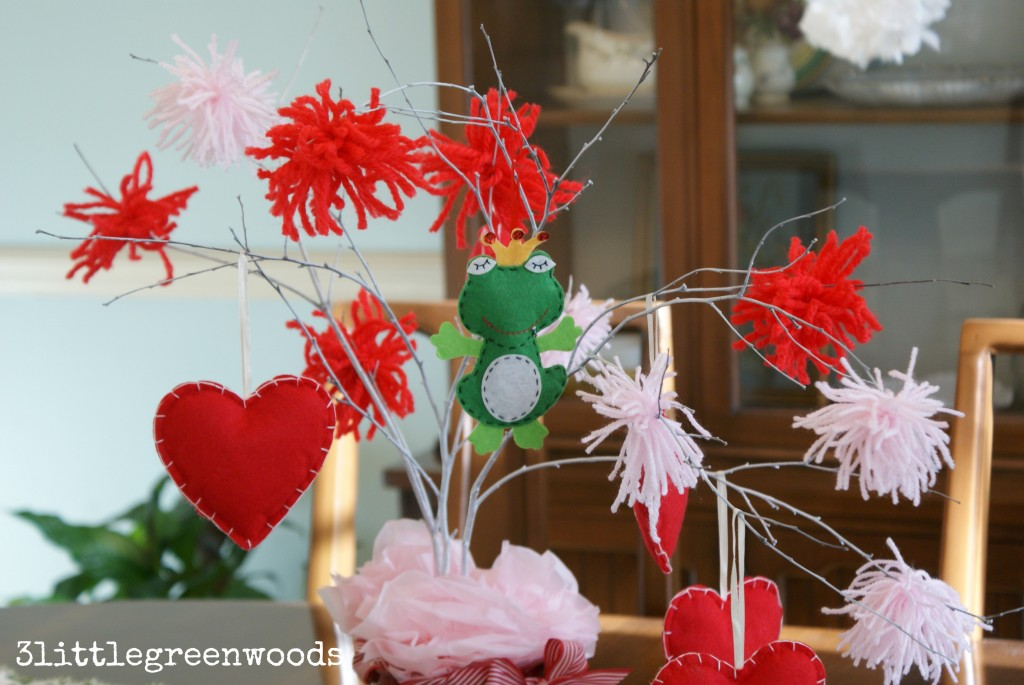 easy valentine's day decor