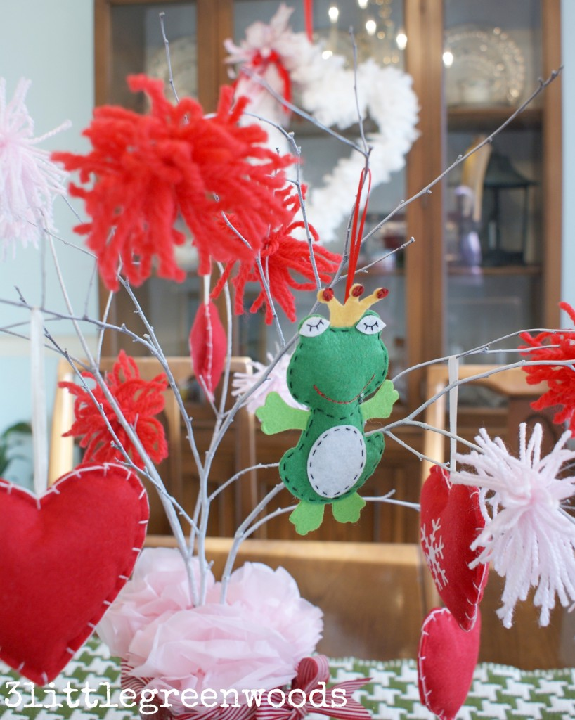 handcrafted valentine's day decorations