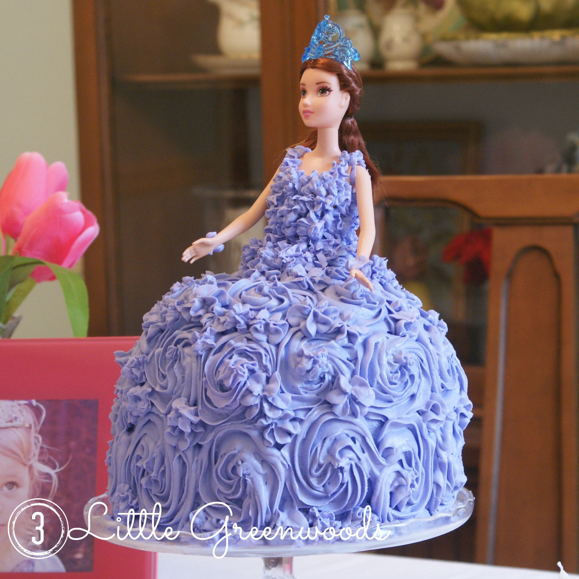 Princess Cake for a Sofia the First Birthday Party
