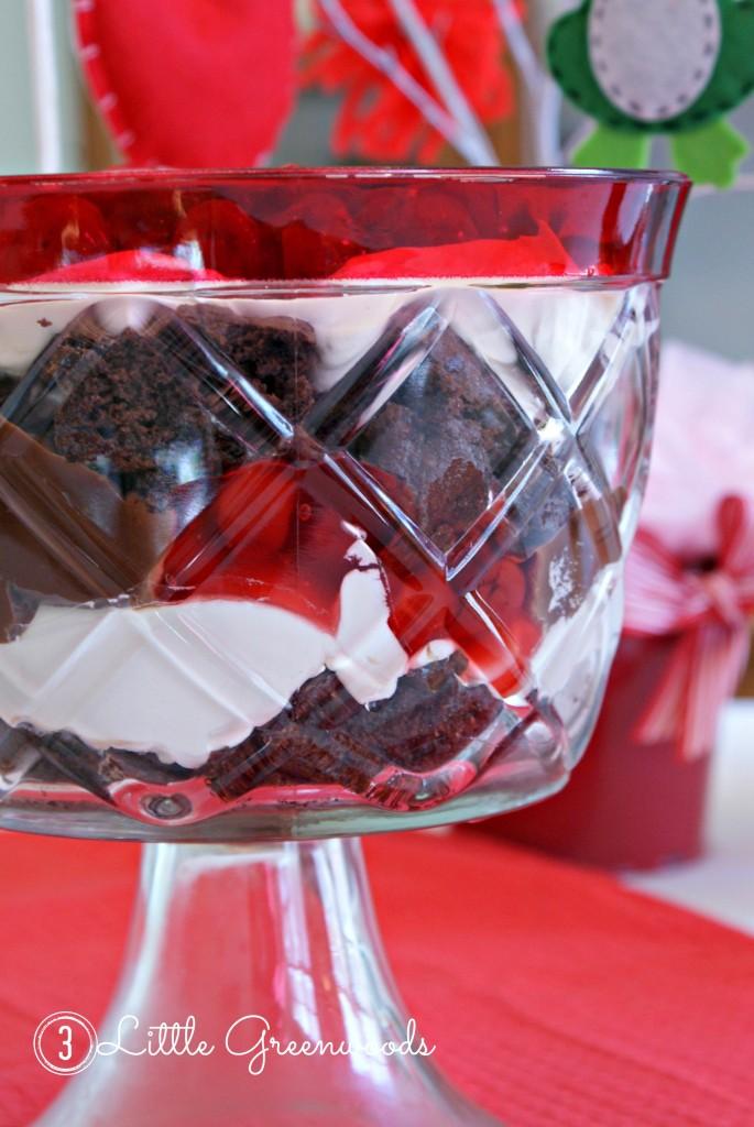 easy Valentine's dessert