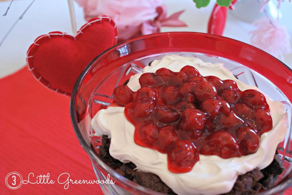 simple brownie dessert