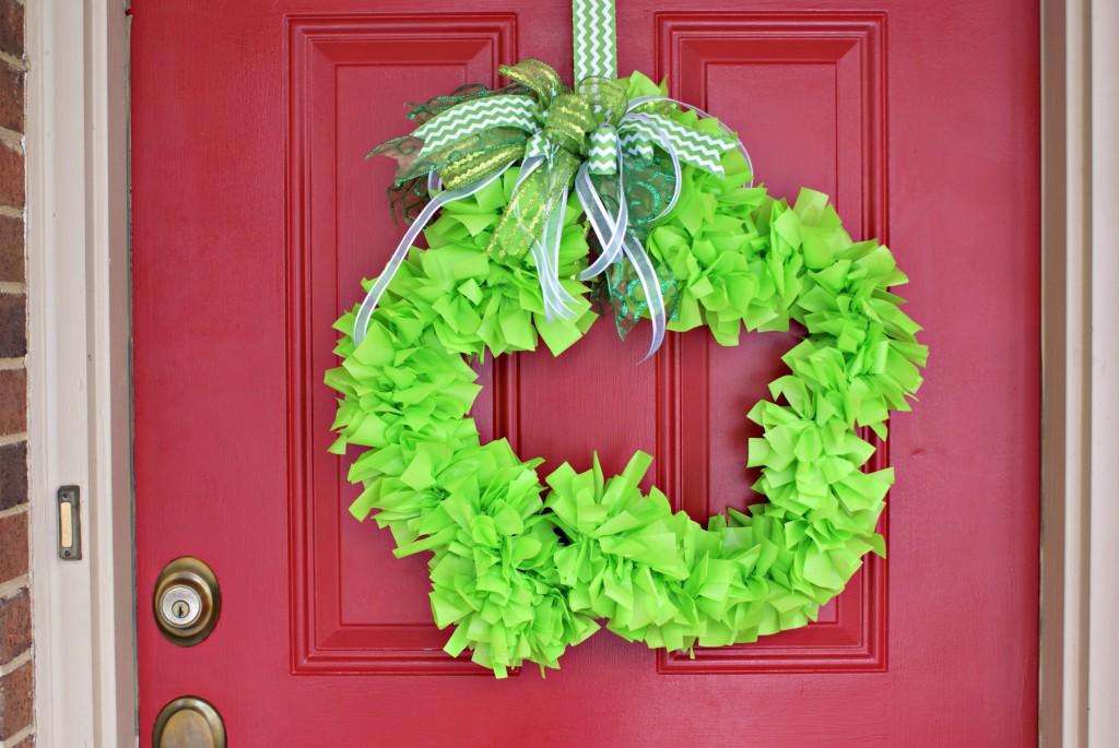 Shamrock Wreath by 3 Little Greenwoods