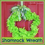 Shamrock Wreath