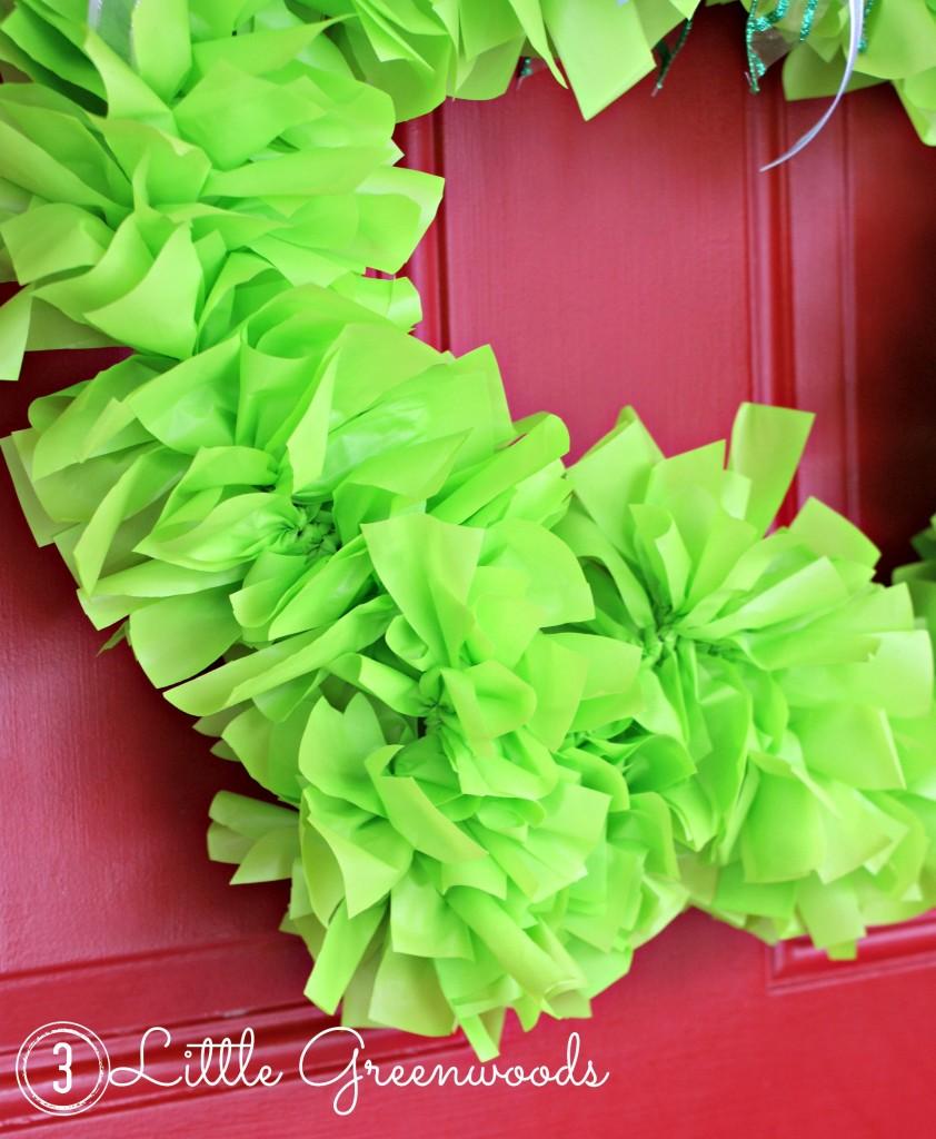 DIY St Patrick's Day wreath