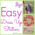 DIY Dress Up Station