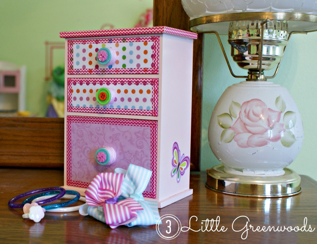 little girl jewelry storage