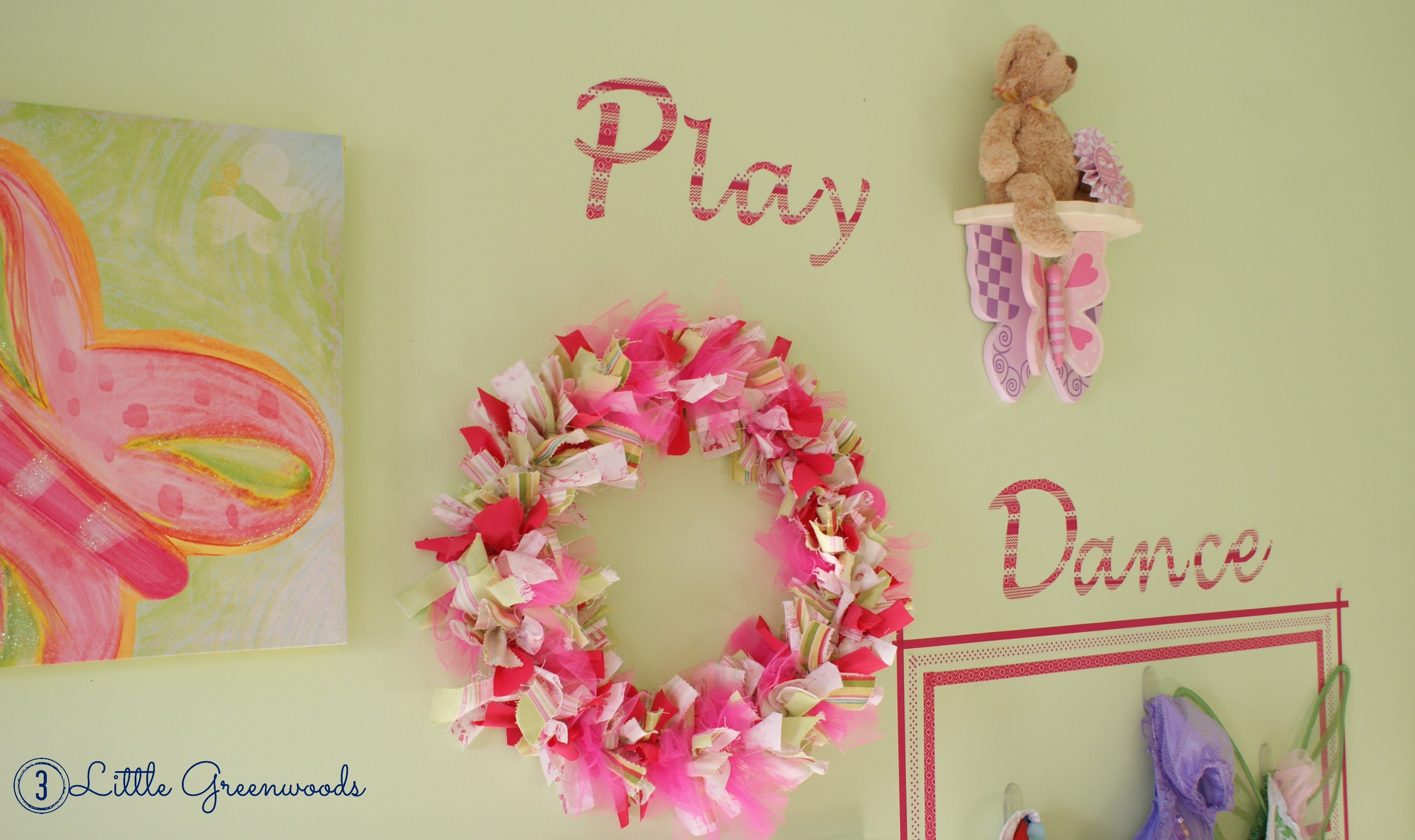 Playful Words Made Washi Tape ~ A Tutorial - 3 Little Greenwoods
