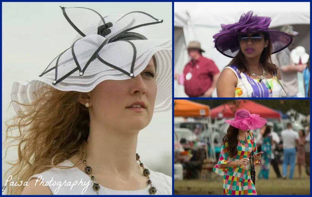steeplechase hats Collage