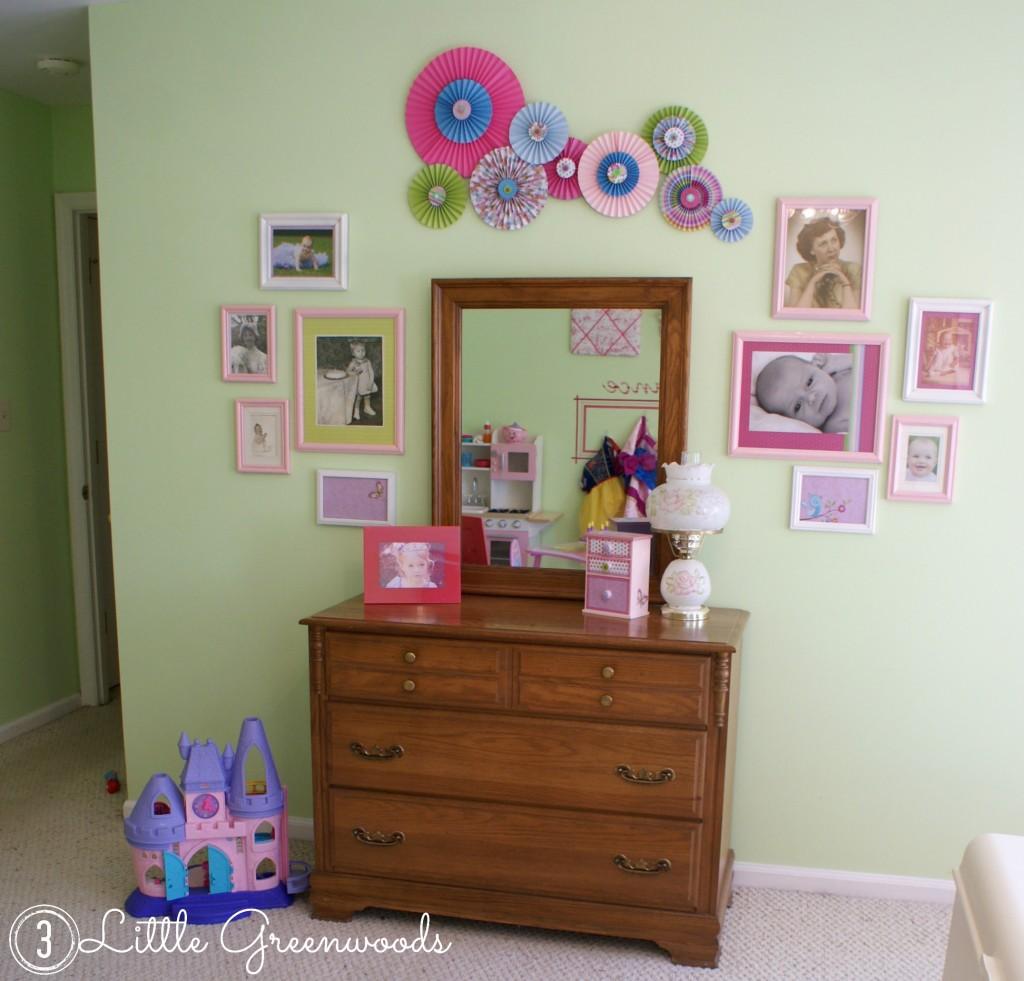 paper pinwheels wall art