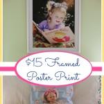 $15 Framed Poster Print
