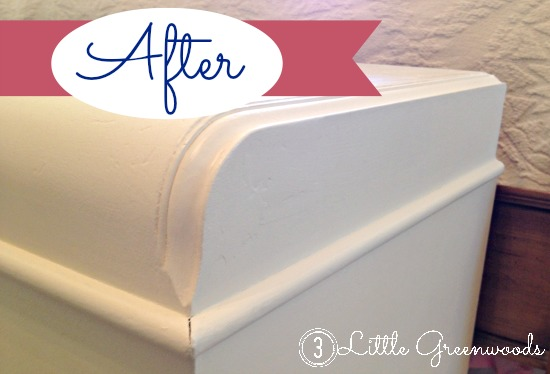 Repaired and Revived Hope Chest {3littlegreenwoods.com}