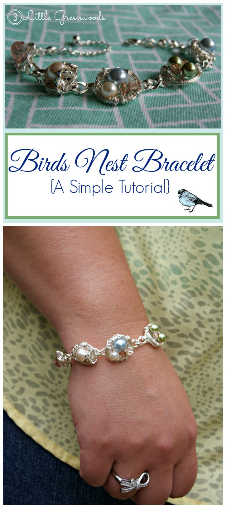MUST PIN Mother's Day Gift Idea ~ A Bird's Nest Bracelet