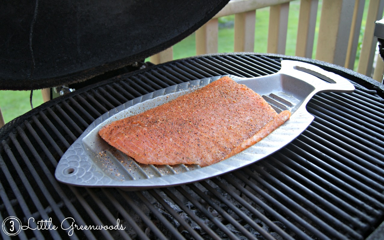 Tips & Tricks for Grilling Salmon ~ Plus a Giveaway by 3 Little Greenwoods