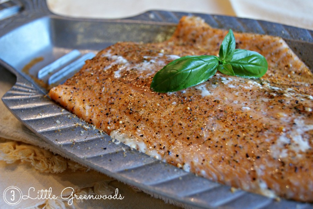 grilling salmon tips