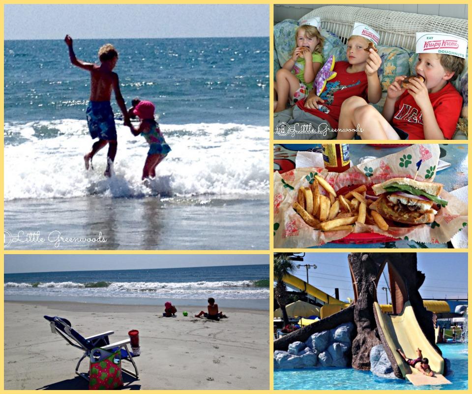 3 Little Greenwoods beach vacation 2014