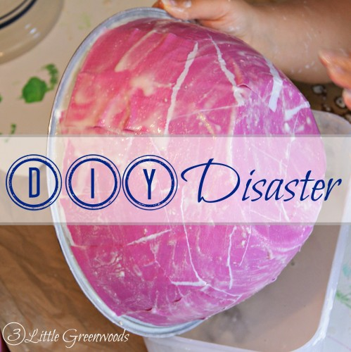 DIY Disaster by 3 Little Greenwoods