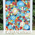 DIY Abstract Circle Art