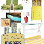 Fun and Lively Home Office Inspiration with Chairish
