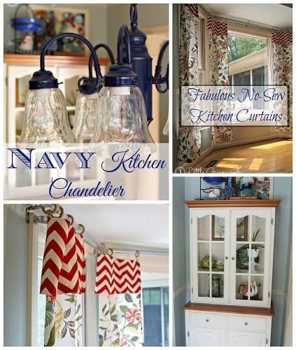 DIY Bay Window Curtain Rod