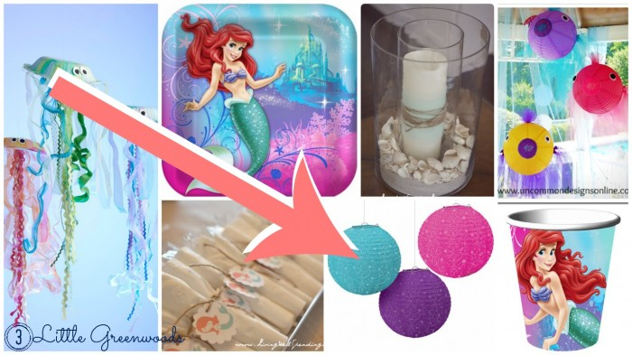 little mermaid birthday inspiration