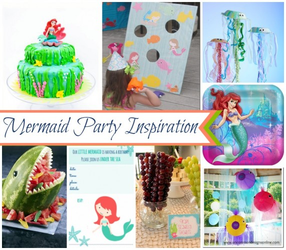 Mermaid Party Inspiration by 3 Little Greenwoods