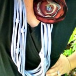 Show Your Team Spirit with an Upcycled T-Shirt Necklace Tutorial