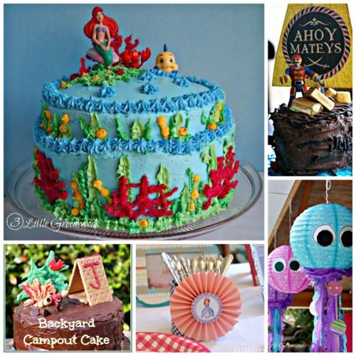 Birthday Party Ideas from 3 Little Greenwoods
