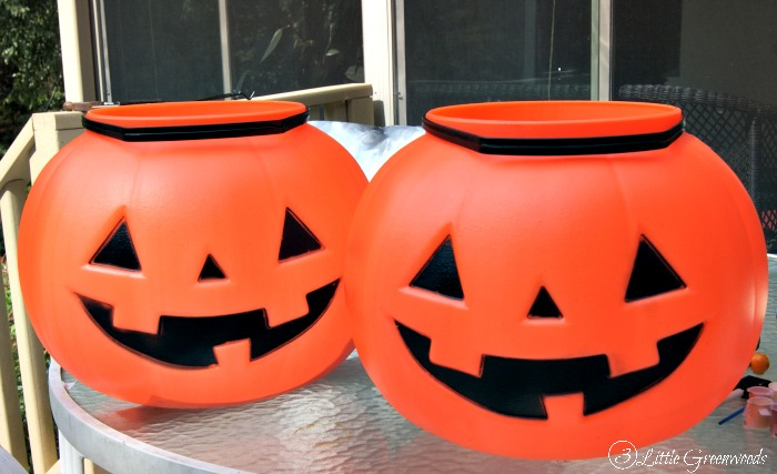 candy bucket pumpkin