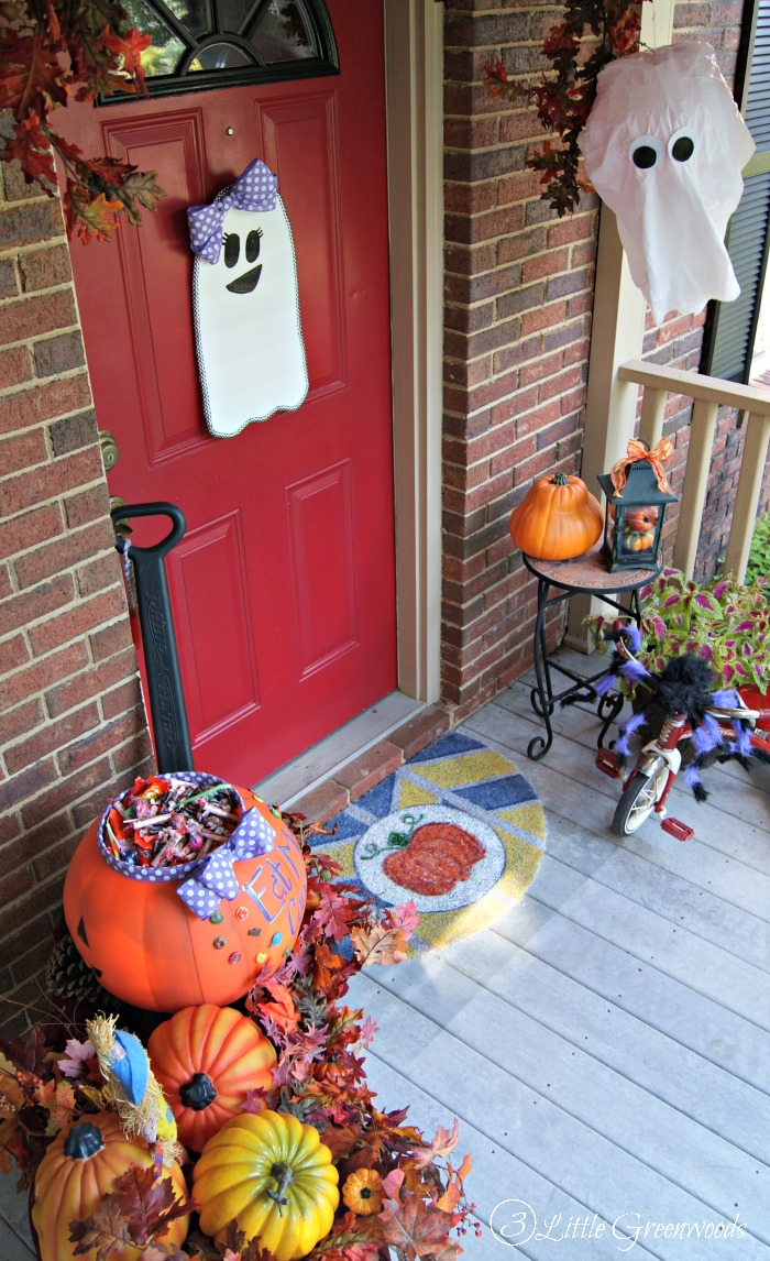 Halloween Front Porch by 3 Little Greenwoods