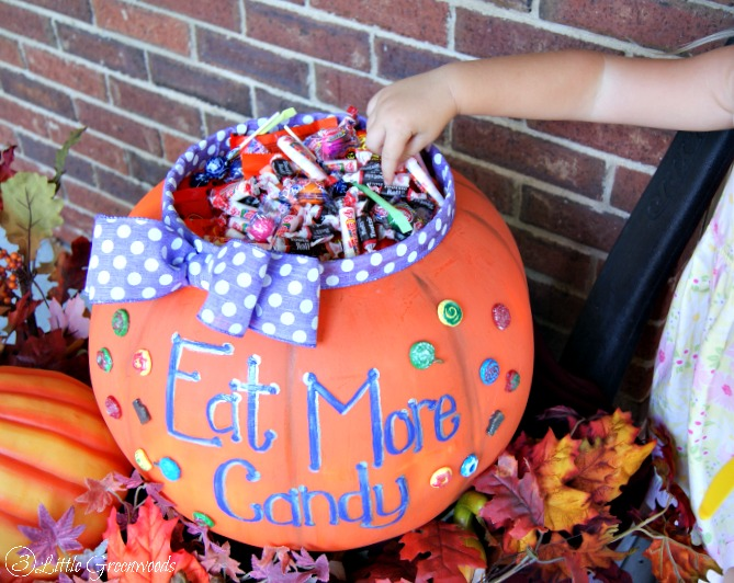 Giant Candy Bucket For Halloween By 3 Little Greenwoods