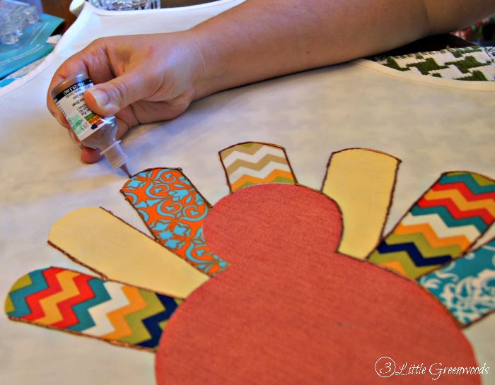 DIY Turkey Apron by 3 Little Greenwoods
