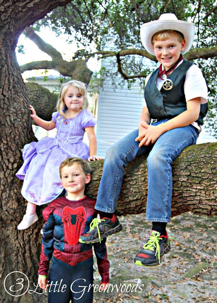 Happy Halloween from 3 Little Greenwoods