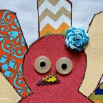 DIY Thanksgiving Apron with Turkey Applique: #MakeIt Challenge