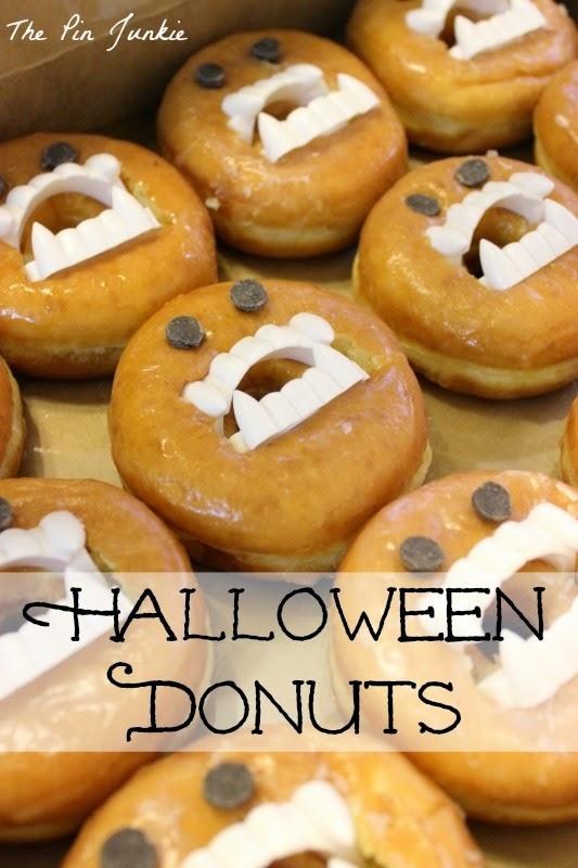 Halloween Donuts 2