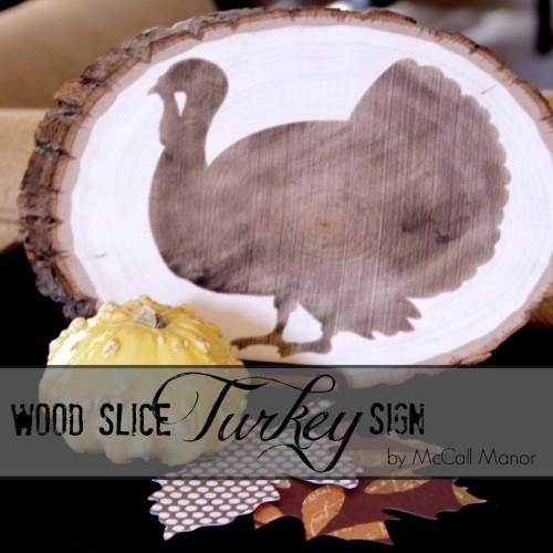 turkey sign