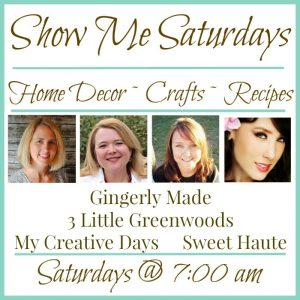 Show Me Saturday Linky Party