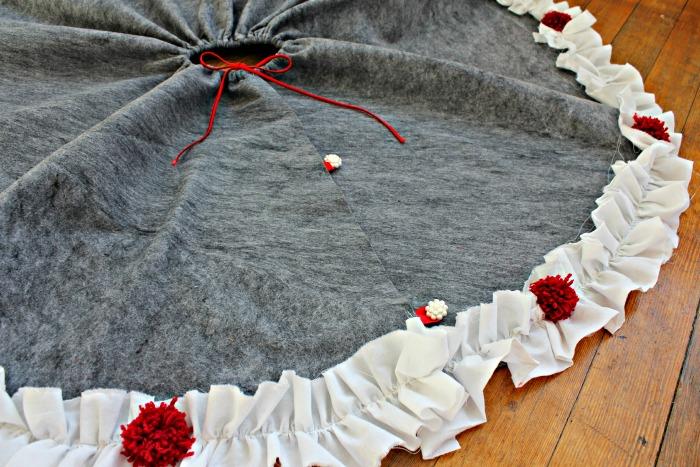 View from the Fridge Christmas Tree Skirt