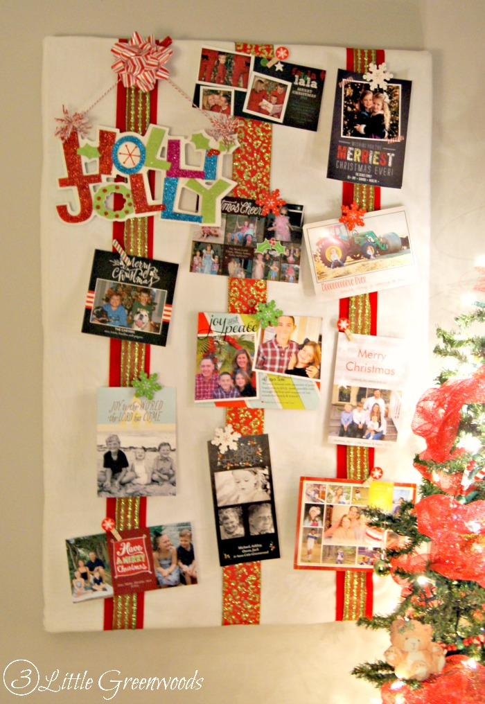Christmas Gallery Wall by 3 Little Greenwoods