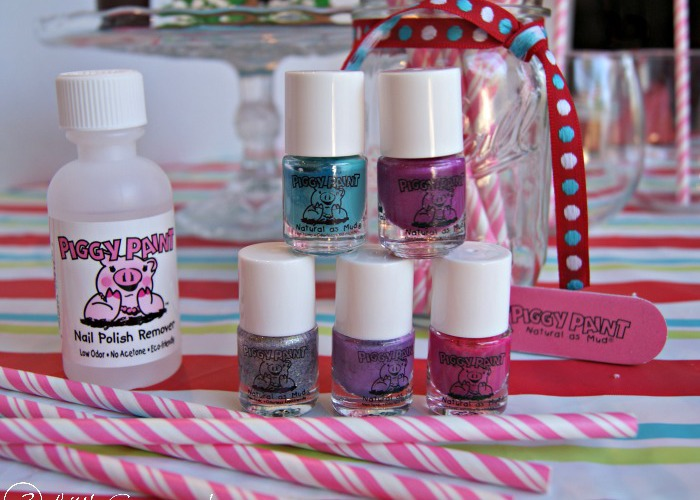 Treat Yourself & Your Little Girl to a Piggy Paint Spa Party!