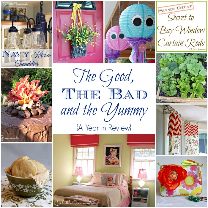 2014 Year In Review - The Good, Bad, and Yummy with 3 Little Greenwoods http://www.3littlegreenwoods.com